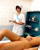 X Clinic - Medical fetish and forced orgasms